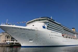 COSTA MEDITERRANEA Transfer By Shuttle From Civitavecchia Port To - Civitavecchia train station to cruise ship